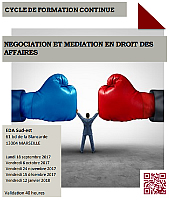 cycle negociation et mediation